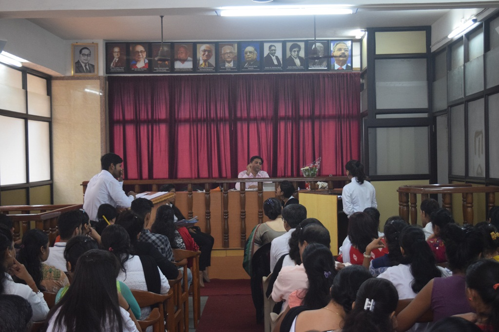 First Moot Court Competition
